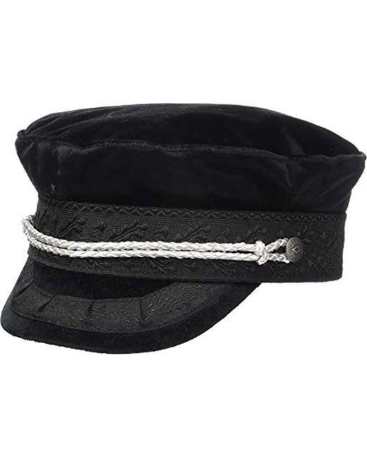 62584eab5db Brixton - Black Albany Greek Fisherman Hat for Men - Lyst ...