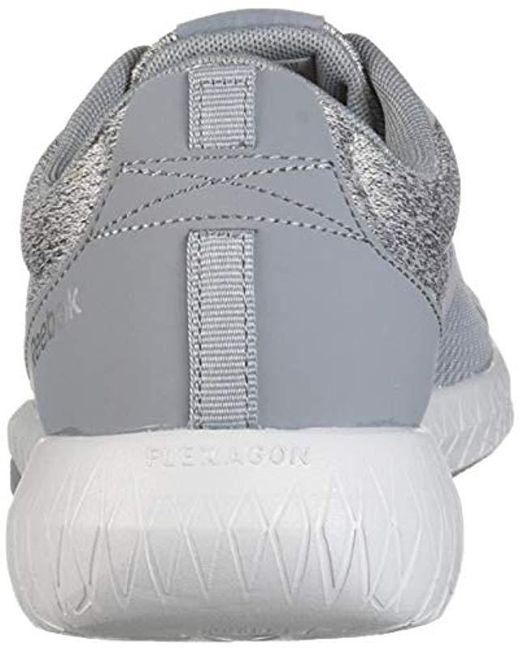 b1195010e51 ... Reebok - Gray Flexagon Force Cross Trainer, Mel-cold Grey/silver/black  ...