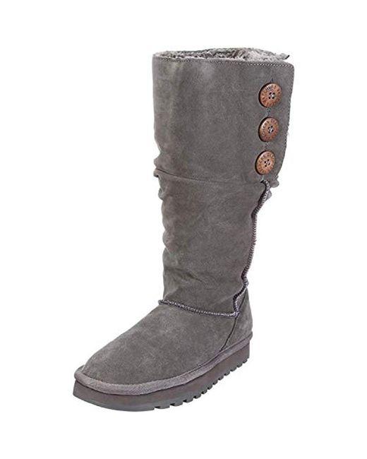 Skechers - Gray Keepsake - Brrr Pull On Boots - Lyst