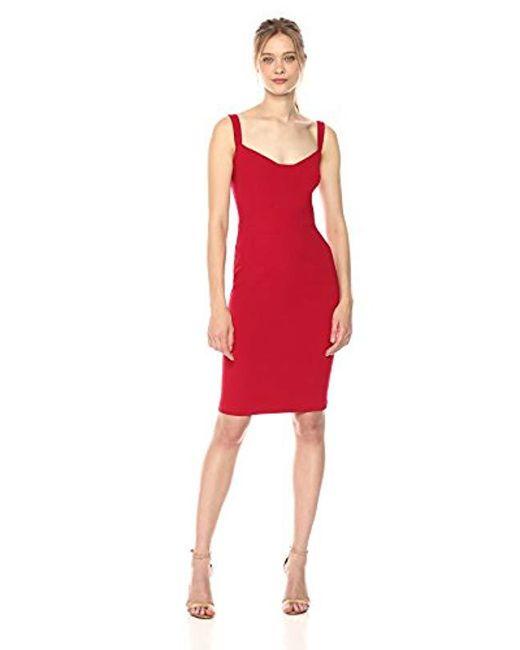 Black Halo - Red Vista Sheath Dress - Lyst