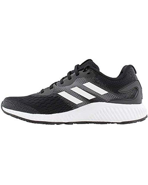 release date e68dd 0af7e ... Adidas - Black Aerobounce M Running Shoe for Men - Lyst ...