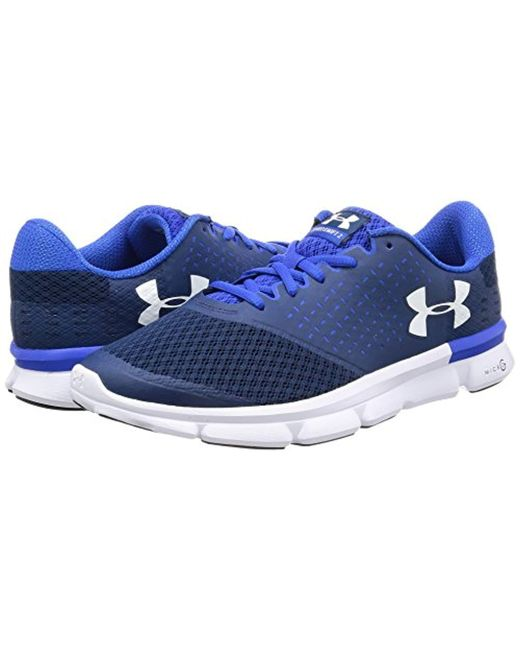 newest 1b43f b60b2 ... Under Armour - Blue Ua Micro G Speed Swift 2 Running Shoes for Men -  Lyst ...