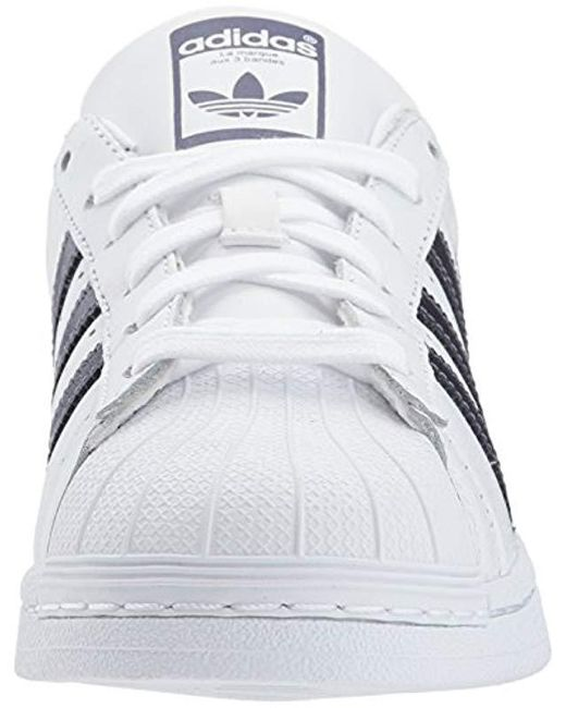 size 40 ab756 49750 ... Adidas Originals - White Superstar Shoes Sneaker - Lyst ...