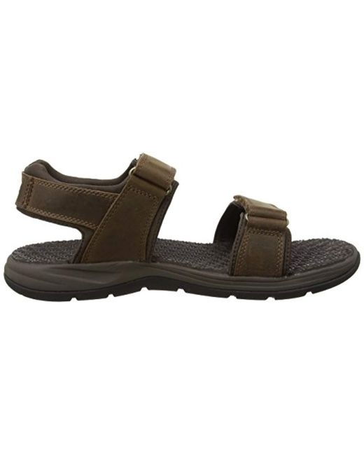 new product 8475b d5e5c timberland-Dark-Brown-Connection-Harbor-Pines-Leather-Sanddark-Brown-Connection-Sandals.jpeg