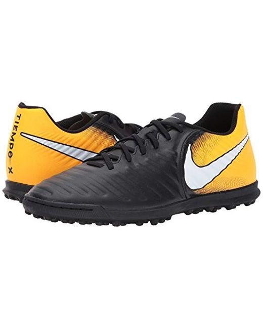01c8767863ca ... Nike - Black Tiempox Rio Iv Tf Football Boots for Men - Lyst ...