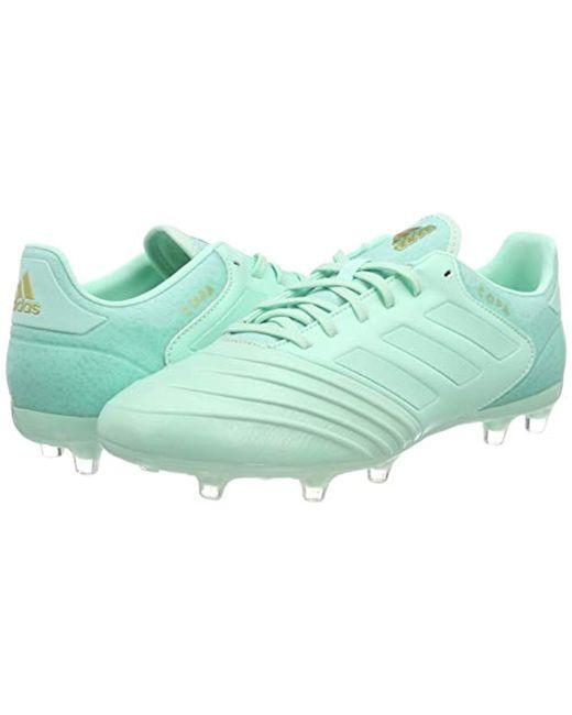buy popular deb72 d61fa ... Adidas - Green Copa 18.2 Fg Football Boots for Men - Lyst ...