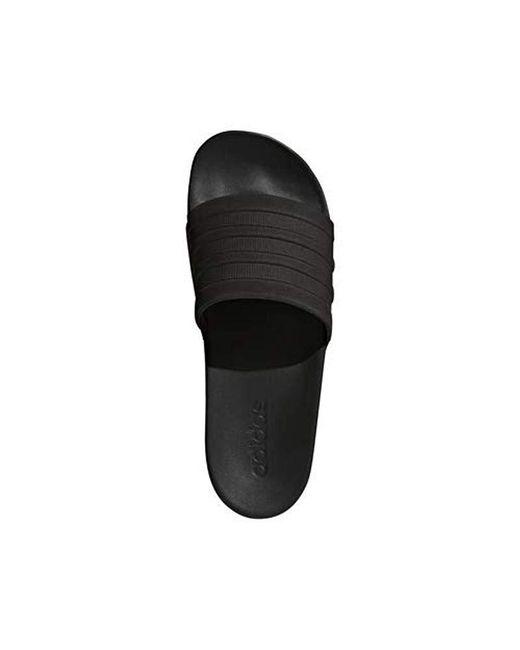 f334c9a5eb6a Lyst - adidas Adilette Comfort Slide Sandal Black
