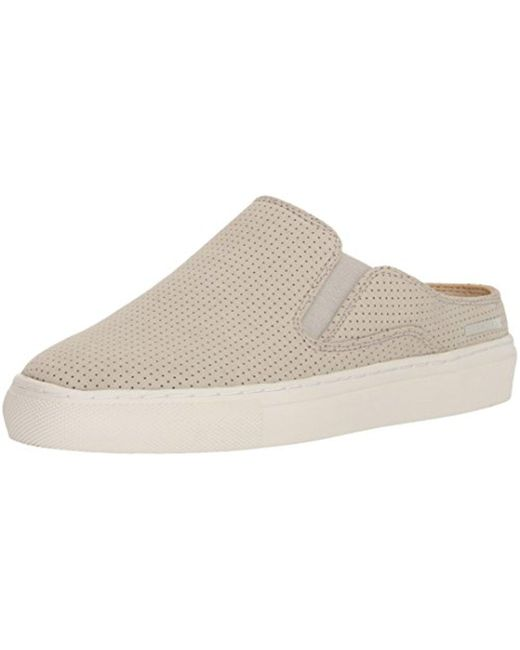 Skechers - Natural Vaso-mitad-perfed Twin-gore Open-back With Air-cooled Memory Foam Mule - Lyst