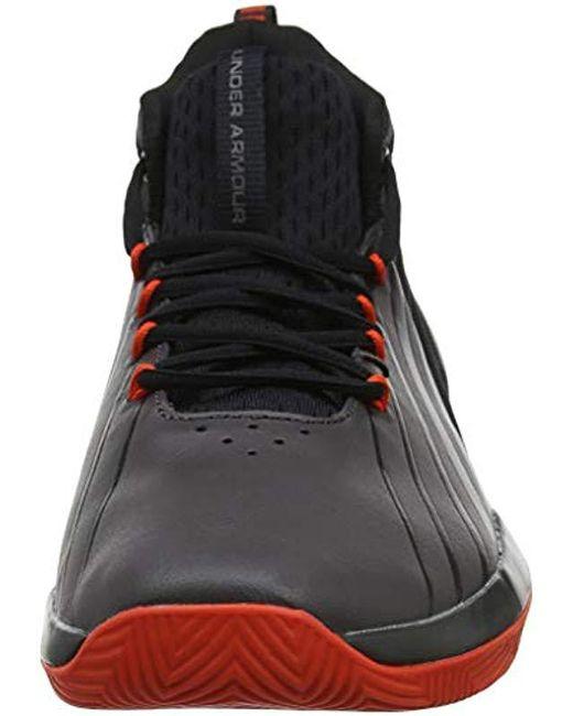low priced b54b7 e9e5e ... Under Armour - Black Ua Lockdown 3 Basketball Shoes for Men - Lyst ...
