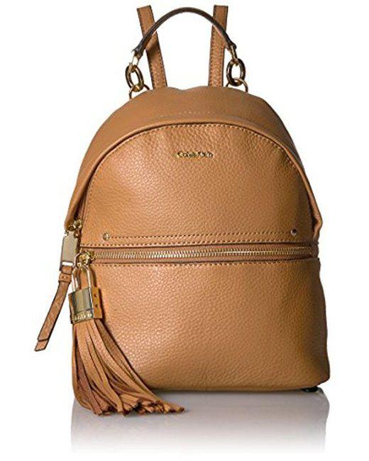 Calvin Klein - Multicolor Lynn Pebble Backpack - Lyst