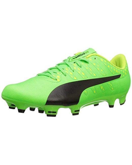 PUMA - Green Evopower Vigor 4 Fg Football Boots for Men - Lyst