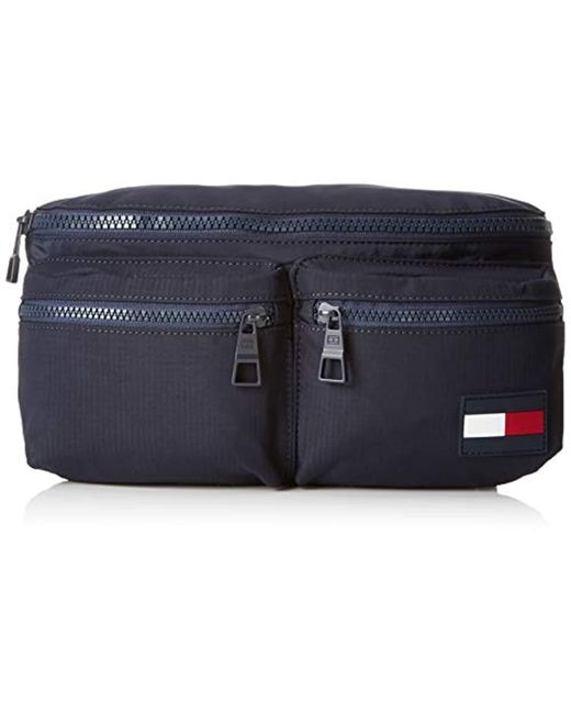 Tommy Hilfiger - Blue Tommy Crossbody Sports Tape Messenger Bag for Men -  Lyst ... b4a892c6520e3