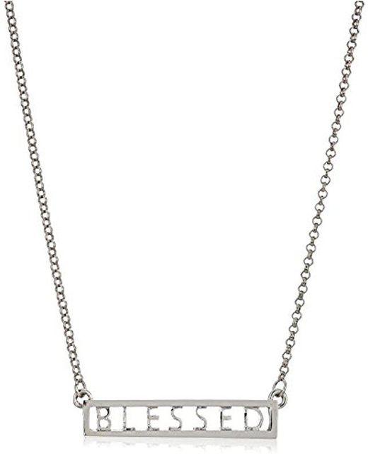 BCBGeneration - Metallic Bcbg Generation Blessed Chain Necklace - Lyst