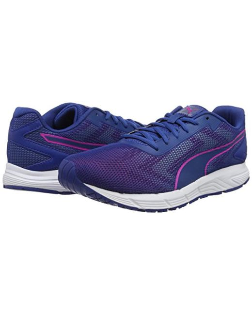 ... PUMA - Blue Engine Wns Running Shoes - Lyst ...