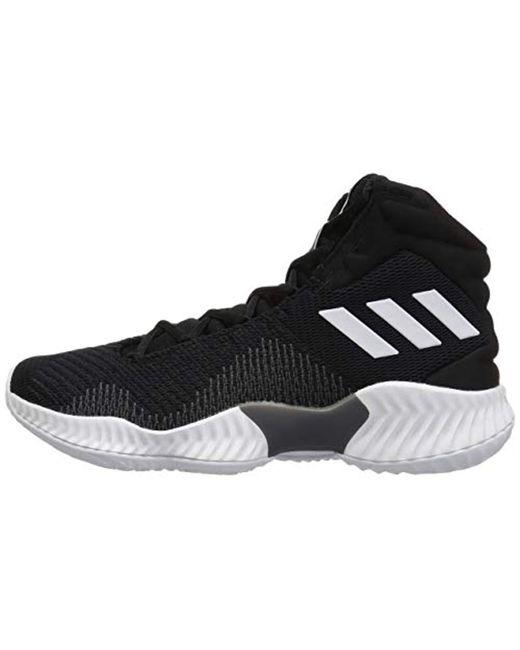 7e4db33641a ... Adidas Originals - Black Pro Bounce 2018 Basketball Shoe for Men - Lyst  ...