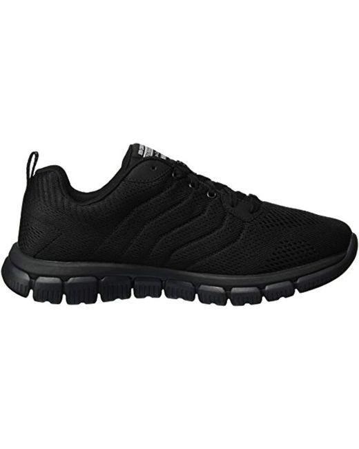 Men's Black Skech Flex 2.0 Milwee Fashion Sneaker