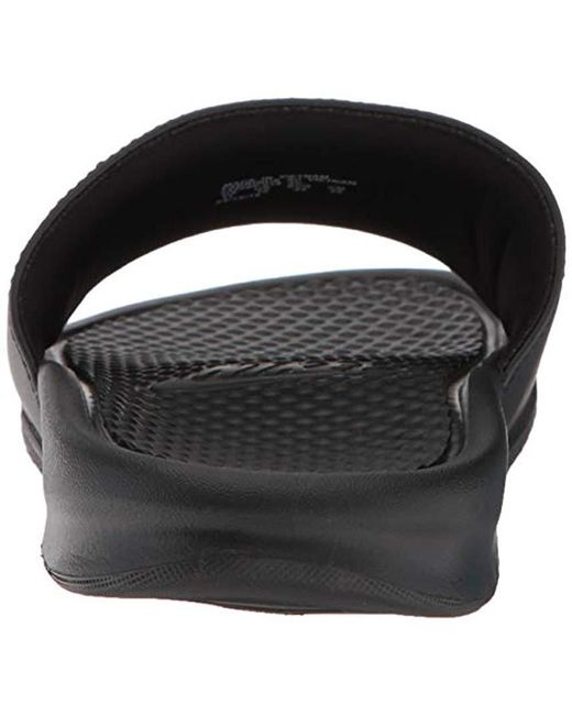 c73b303f4a9 ... Nike - Black Benassi Blue Flip Flops for Men - Lyst ...