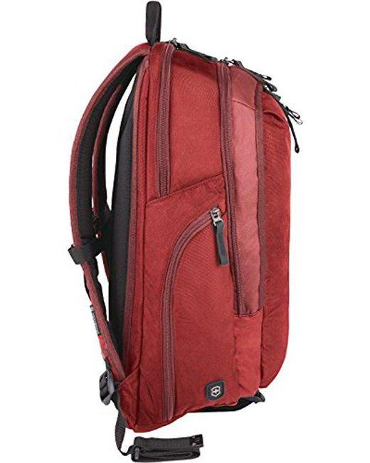 Victorinox - Red Altmont 3.0 Vertical-zip Laptop Backpack for Men - Lyst