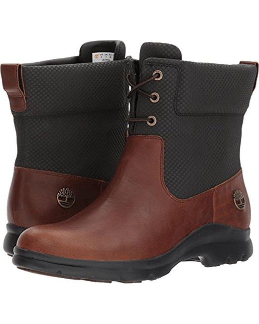 Timberland - Brown Turain Ankle Wp Rain Boot - Lyst