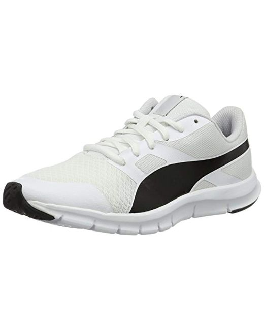 463079eff4892c PUMA - White Unisex Adults Flexracer Low-top Sneakers for Men - Lyst ...