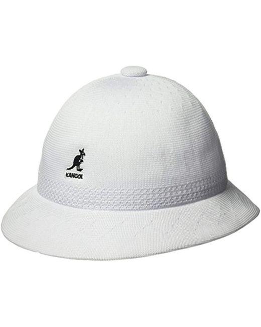 Lyst - Kangol Tropic Ventair Snipe Bucket Hat in White for Men ... c48fc45e347