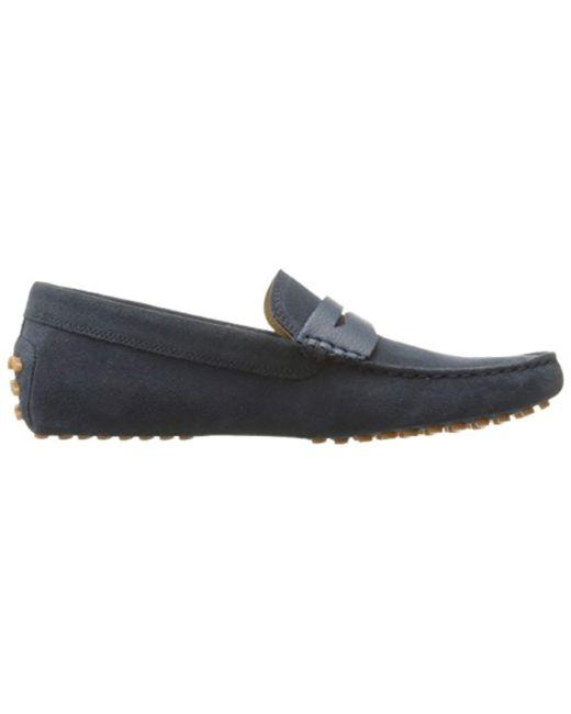 d6192f629422 ... Lacoste - Blue Concours 18 Srm Slip-on Loafer for Men - Lyst ...