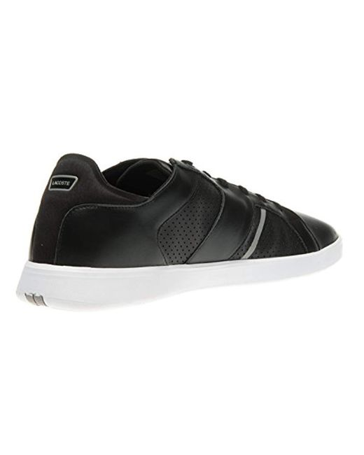 763225e45254a1 ... Lacoste - Black Novas Ct 118 1 Spm Trainers for Men - Lyst ...