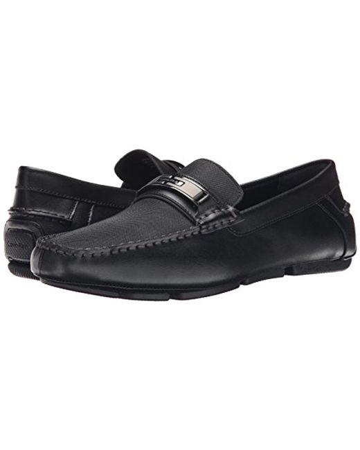 Mens Shoes Calvin Klein Mchale Steel Leather