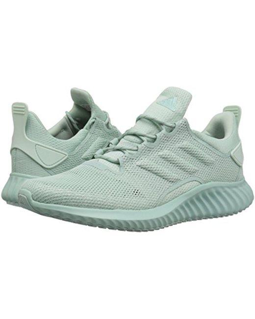 Lyst adidas alphabounce cr cc scarpa da corsa in verde per gli uomini.