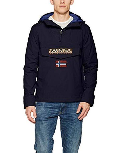 Napapijri - Blue Rainforest Winter 1 Jacket In Navy for Men - Lyst