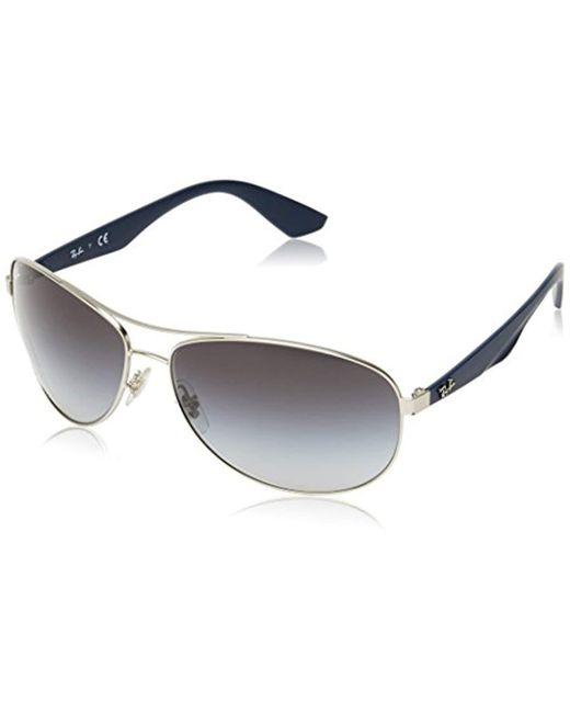 8c256a1601 Ray-Ban - Blue Sunglasses Rb3526 63 Mm for Men - Lyst ...