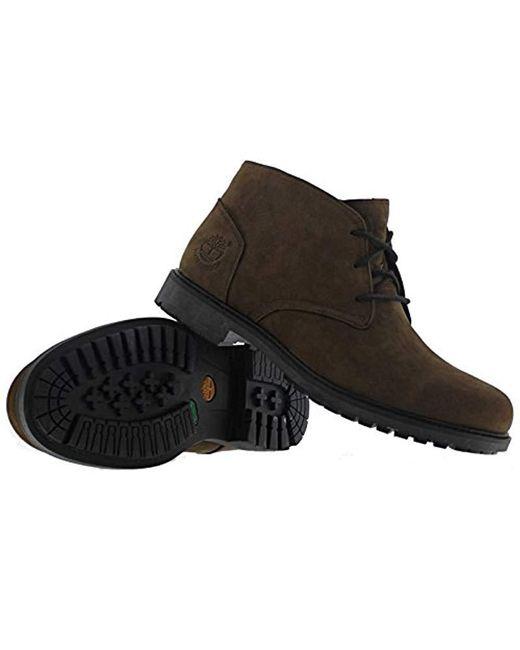 9c4e4a4266dec ... Timberland - Brown Earthkeepers Stormbuck Chukka, Boots for Men - Lyst  ...