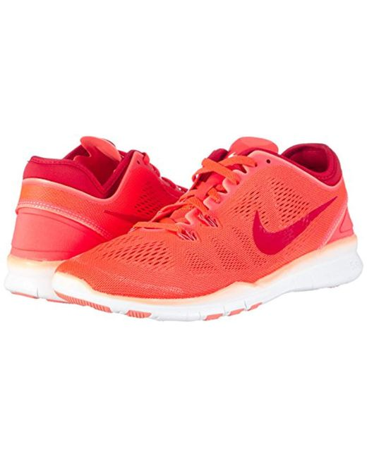 ab22ae1e31aa7 Nike  s Free 5.0 Tr Fit 5 Multisport Indoor Shoes in Red - Lyst