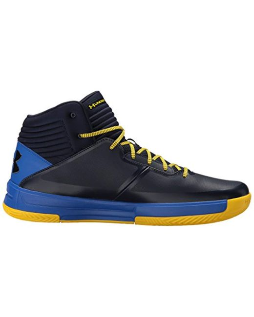 ... Under Armour - Blue Lockdown 2 Basketball Shoe for Men - Lyst ... 986a54764140f