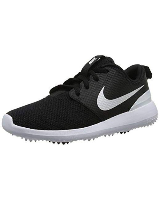 pretty nice e9b95 e7d64 Nike - Black Wmns Roshe G Golf Shoes - Lyst ...