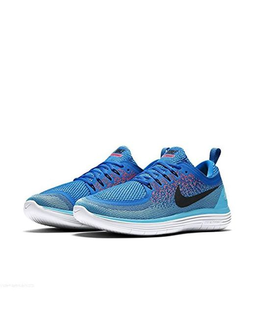 39cce790770 ... Lyst Nike - Blue  s Free Rn Distance 2 Running Shoes for Men ...
