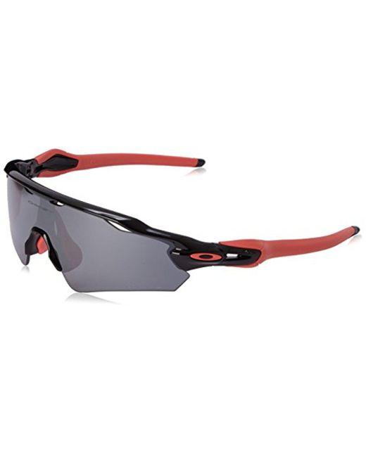 Oakley - Black Radar Ev Asian Oo9275-07 Shield Sunglasses for Men - Lyst