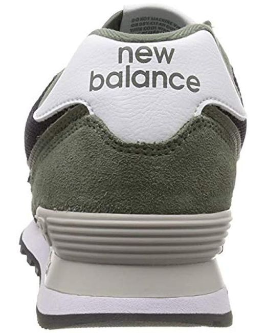 new balance 574v2 uomo verde