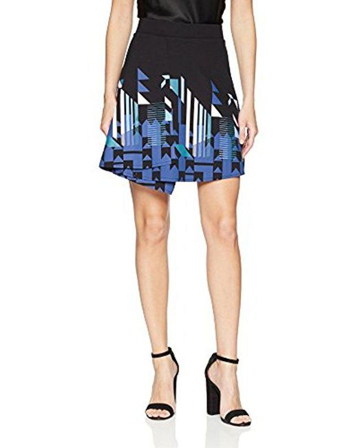 Desigual - Blue Aunice Skirt - Lyst