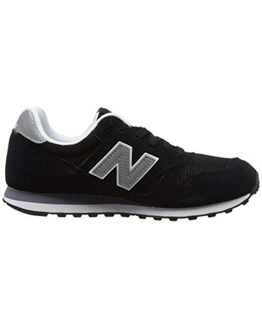 1709799e3e30c New Balance 373 Core Trainers in Black for Men - Save 25% - Lyst