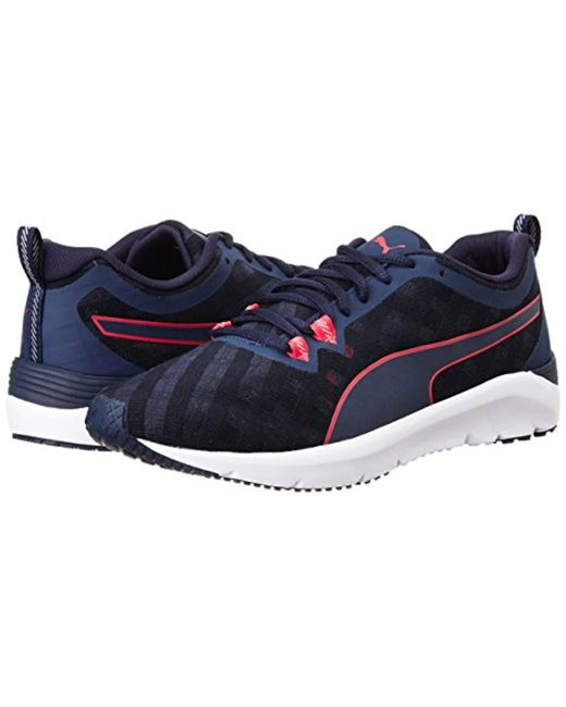 ae0645a1b89ff puma -Blue-Peacoat-sparkling-Cosmo-01-s-Rush-Cross-Hatch-Wns-Fitness-Shoes-Multicoloured.jpeg