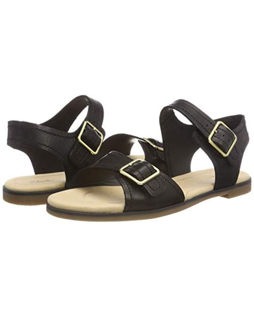 a70f4b164ee Clarks Bay Primrose Womens Sandals Women s Sandals In Black in Black ...