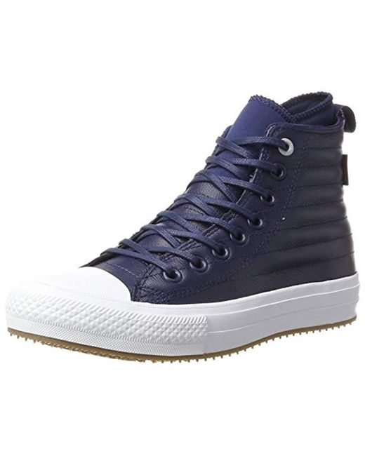 288cb158cd1f Converse - Blue Adults  Ctas Wp Boot Hi Midnight Navy wolf Grey Top  Trainers ...