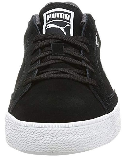 ... PUMA - Black Unisex Adults  Match Vulc 2 Low-top Sneakers for Men ... 04e2b2929