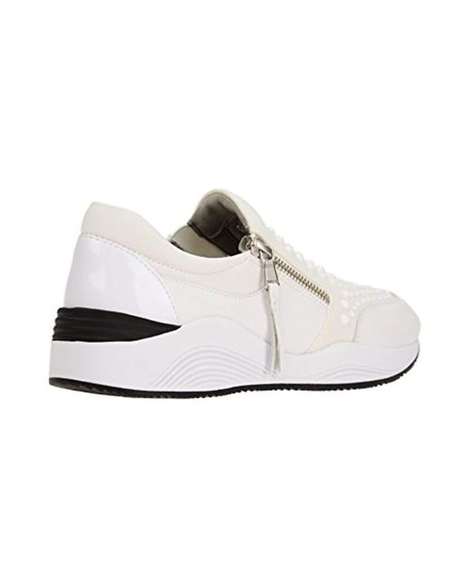 Geox Scarpe Donna Sneakers D Omaia In Pelle Bianco D640sc