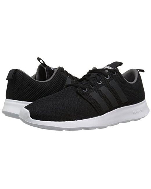 lyst adidas fc swift racer scarpe da ginnastica in nero per gli uomini.