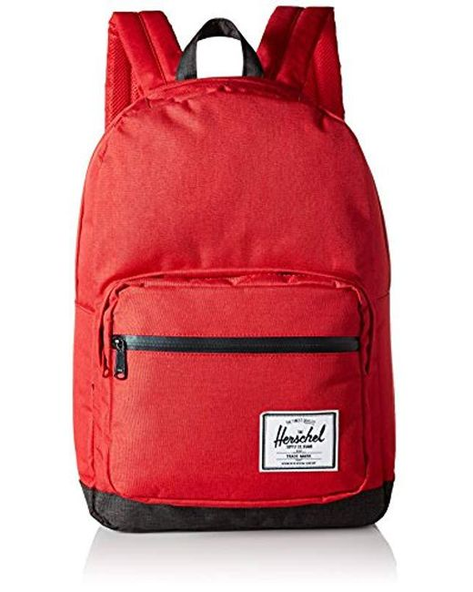 Herschel Supply Co. - Red Pop Quiz Mid-volume Backpack for Men - Lyst ... 3d75b0e790618