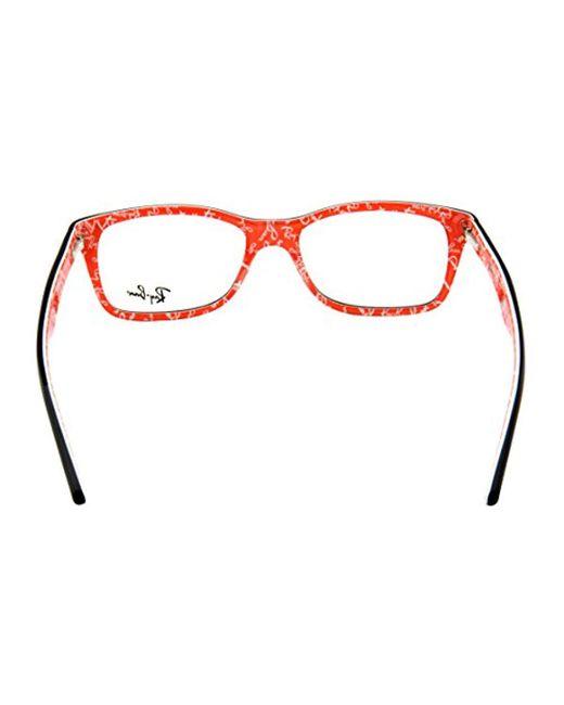8c424e3c04 ... Ray-Ban - Black Rx5228 Eyeglasses for Men - Lyst ...