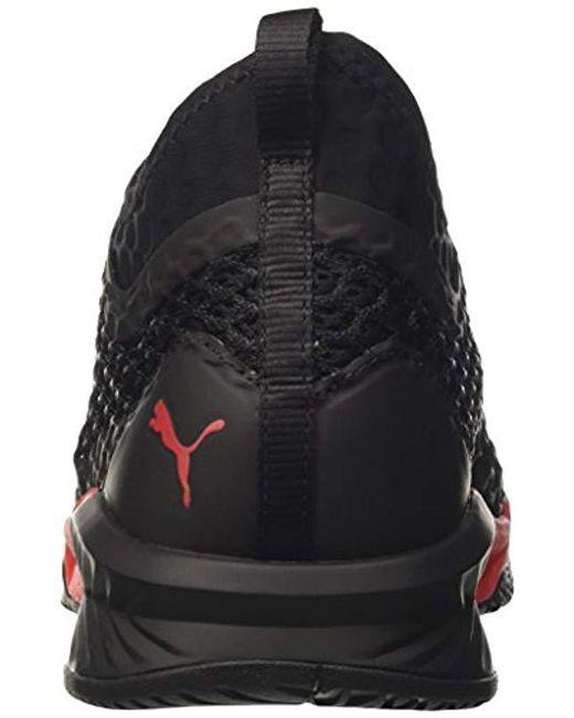9bf550103fc ... PUMA - Black Ignite Xt Netfit Cross Trainers for Men - Lyst ...