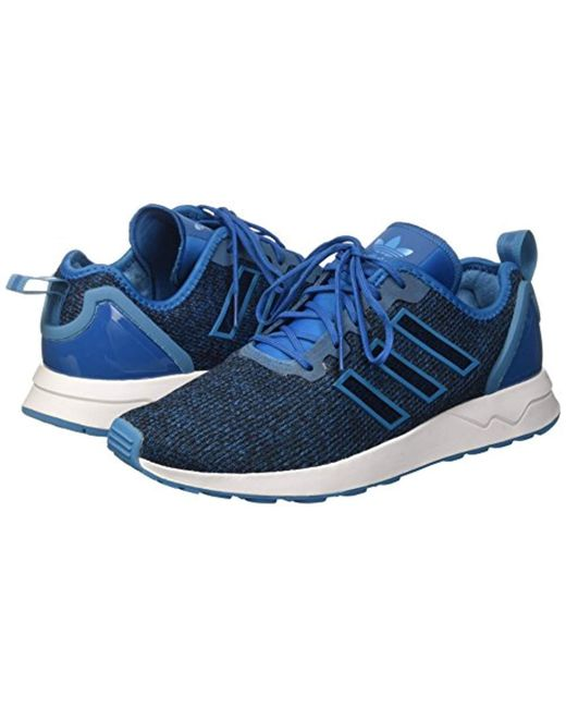9ea8caa63 ... Adidas - Blue Zx Flux Adv Trainers for Men - Lyst ...